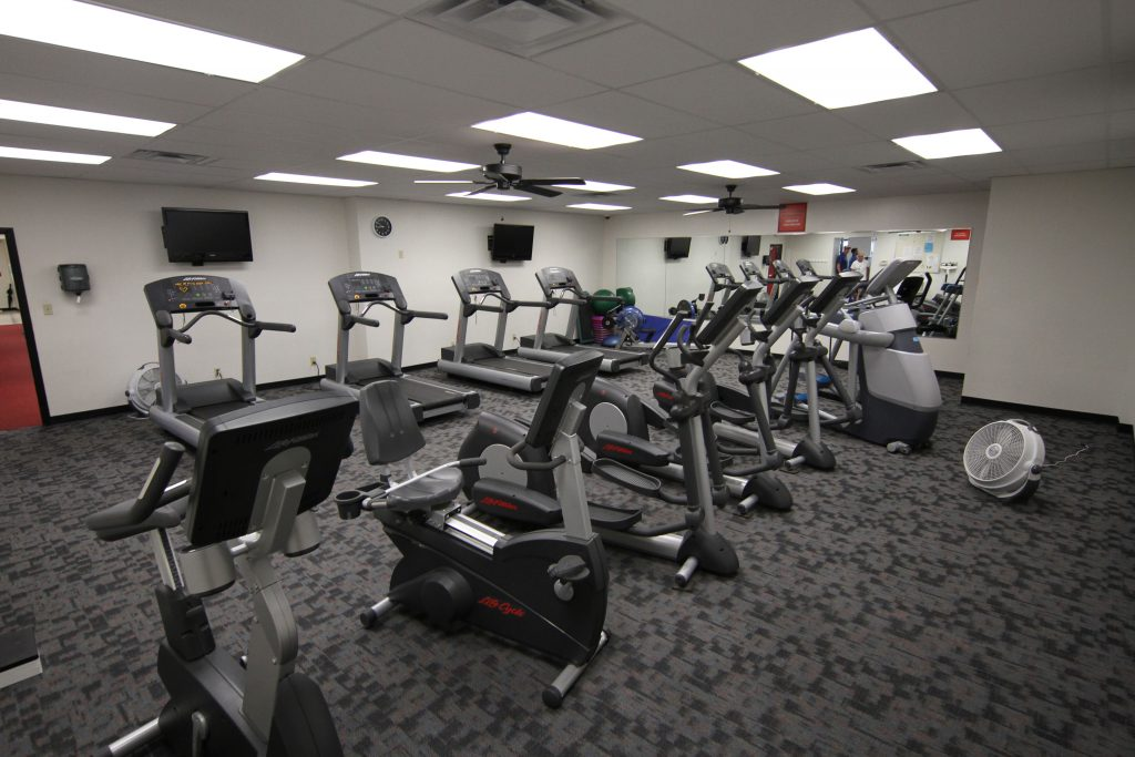 Getting in shape just got easier with a membership to the RHRC Fitness Center